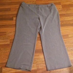 Gray Lane Bryant Trousers Sz. 22